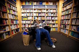 Asleep-in-bookstore