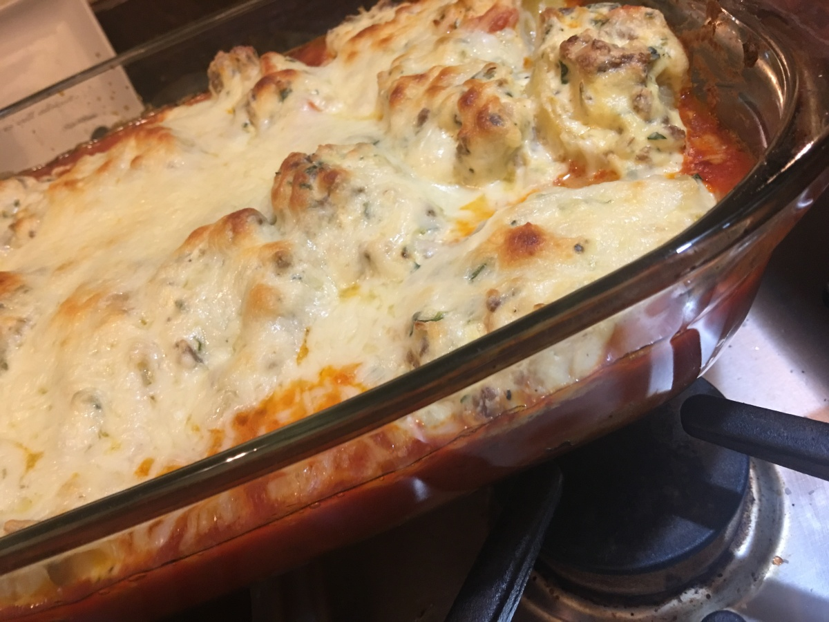 Anna's Stuffed Shells: Just what the Doctor Ordered.