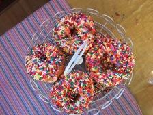 Rainbow Donuts